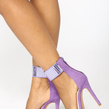 Reflect Me Not Heels - Purple