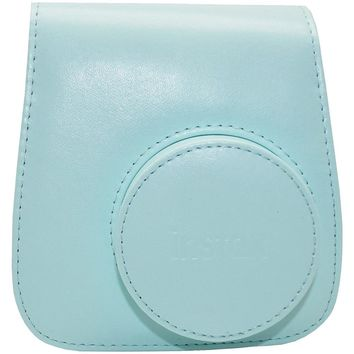 FUJIFILM 600018144 Instax(R) Mini 9 Groovy Case (Ice Blue)