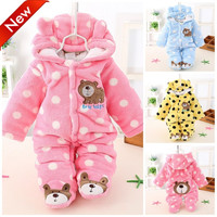 Newborn Baby Winter Romper