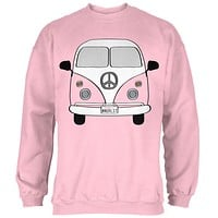Halloween Travel Bus Costume Camper Wanderlust Mens Sweatshirt