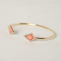 Pointed Coral Cuff