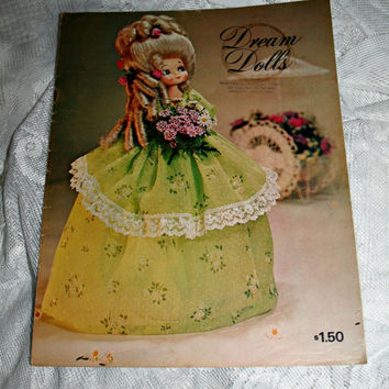 Baroque Rococo DREAM DOLLS Doll Making Book Vintage Doll Making Book Soda Bottle Upcycling Book Eco Craft Marie Antoinette Style