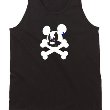 Disney Mickey Mouse Pirate Womens Tank Top