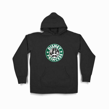 Ariel Mermaid Starbuck Disney Princess Tvk Black Hoodie