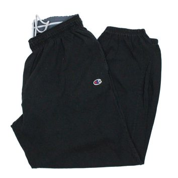 Champion Authentic Black Thin Cuffed Sweatpants Size XL