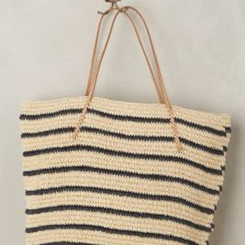 Buxton Tote by Anthropologie in Navy Size: One Size Bags