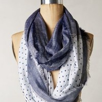 Notation Infinity Scarf by Anthropologie Blue One Size Scarves
