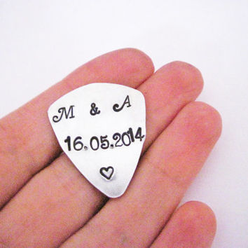 Boyfriend Guitar Pick, Guy Gift, For Him Personalized, Custom Guitar Pick, Guitar Pick, Engraved For Him, Mens Gift, Gift for Boyfriend