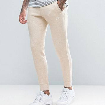 Nike Legacy Joggers In Beige 805150-141 at asos.com