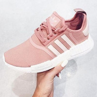 SUMMER11 ADIDAS Women Running Sport Casual Shoes Sneakers Pink