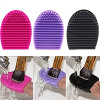 Hotrose 3pcs Silicone Cosmetic Makeup Brush Finger Glove Hand Cleaning Tools Brush Cleaner Tool