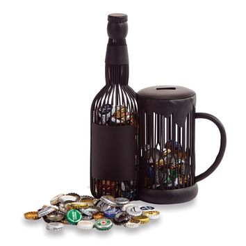 Beer Mug Cap Caddy