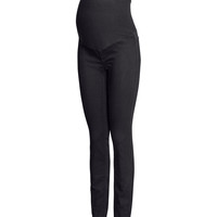 H&M - MAMA Treggings - Black - Ladies