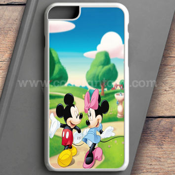 Mickey Mouse And Minnie Mouse Cute Couple Cartoon iPhone 6 Case | casefantasy