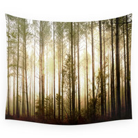 Society6 Glowing Forest Wall Tapestry