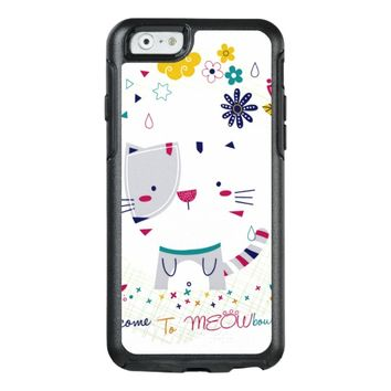 Cat Meow OtterBox iPhone 6/6s Case