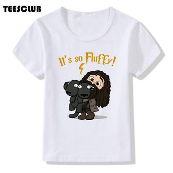 Deadpool Dead pool Taco TEESCLUB It's So Fluffy Print T-shirt Kids 2018 Cute  And Unicorn Design T shirt Children Girls Tee Shirts Clothing AT_70_6