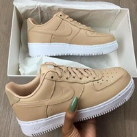nike air force 1 low af1 wheat colored