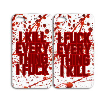 Best Friends Case Cute Best Friend Blood Case Funny iPod Case iPhone 4 Case iPhone 5 Case iPhone 4s iPhone 5s iPod 5 Case Zombie iPod 4 Case