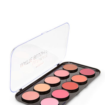 FOREVER 21 Ultimate Matte Blush Palette Pink/Multi One