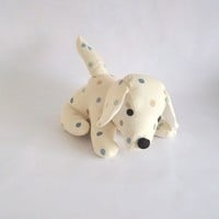 Blue Multi Dotty Doggy Doorstop on Luulla