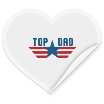 Funny Father's Day Gift For Dad From Wife, Daughter, Son, Stepdaughter, Stepson, Mom, Grandma, Mother In Law (6 od_1495732598337421 TEST STHE Heart Sticker)