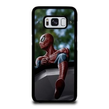 SPIDERMAN J. COLE FOREST HILLS Samsung Galaxy S3 S4 S5 S6 S7 Edge S8 Plus, Note 3 4 5 8 Case Cover