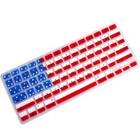 Carry360 Unique Ultra Thin Durable USA FLAG pattern Soft TPU Silicone Keyboard Skin Cover for Macbook Pro 13 15 17