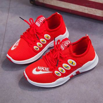 Children Kids Boys Girls Sport Shoes Toddler Mesh Breathable Sports Running Shoe Kids Casual Shoes Breathable Shoes for 6M-5.5T
