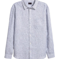 Linen Shirt Relaxed fit - from H&M