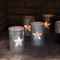 Tin Star Luminary (Set of 4)