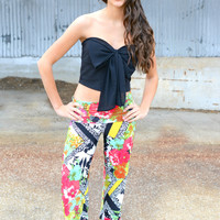 Tropical Paradise Yoga Pants