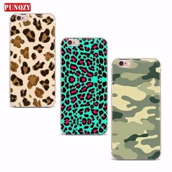 Case For iPhone 7 X 6S 6 5S 8 7 Plus 8 Plus 7 Case Soft TPU Smart Mobile Phone Shell Pattern Cute Protect The Cell Phone Case