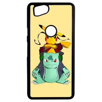 Pikuto Naruto And Pokemon Google Pixel 2 Case
