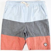 Volcom Threezy Mens Volley Shorts Blue  In Sizes