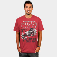 Retro Tie Fighter T Shirt By StarWars Design By Humans