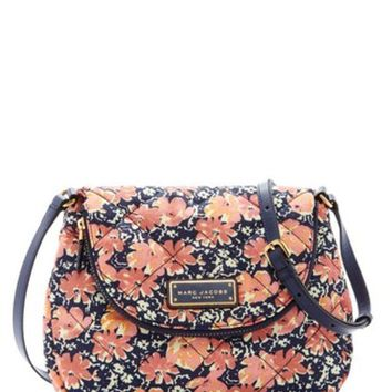 DCCKHB3 Marc Jacobs | Quilted Wildflowers Messenger Bag