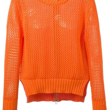 Unconditional Open Knit Sweater