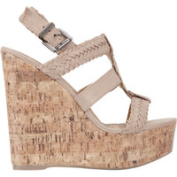 Soda Sotto Womens Shoes Stone  In Sizes