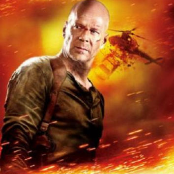 Live Free Or Die Hard Poster Bruce Willis 24inx36in