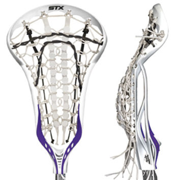 STX Crux 10 Degree Strung Head w/Runway Pocket-longstreth.com