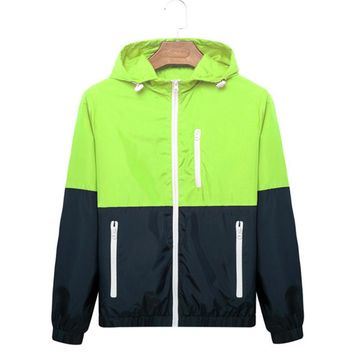 Fashion High Quality Jacket Coats Men Causal Hooded Jacket