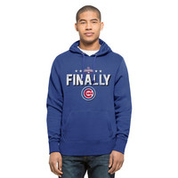 Men's Chicago Cubs '47 Royal 2016 World Series Champions Headline Pullover Hoodie