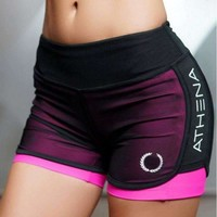 Women Breathable Gym Workout Shorts