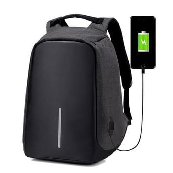 Multifunction USB charging Laptop Backpacks