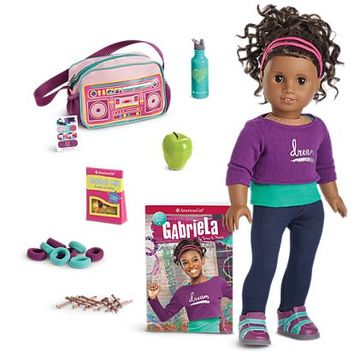 Gabriela Doll, Book & Accessories