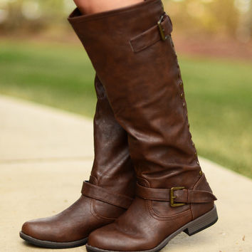 Stand By Me Boots - Brown