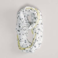 AEO Palm Tree Loop Scarf | American Eagle Outfitters