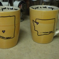 Best Friend Mugs (specifically designed as gifts for friends out of state)