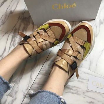 Chloe High shoe high and low running shoes-2